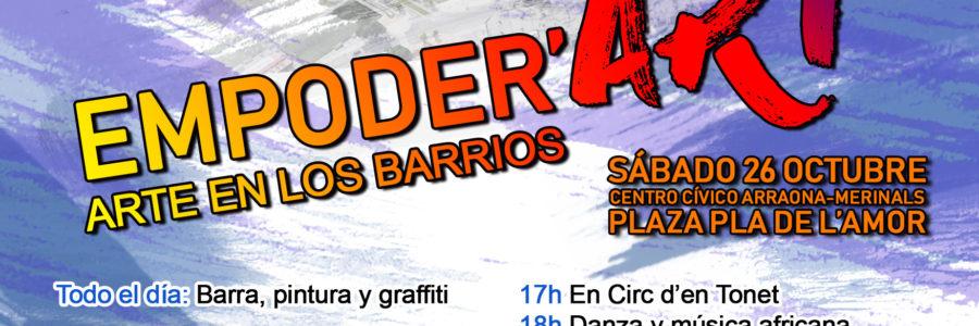 [26/10/19] – Empoder'Art II: Art al barri d'Arraona-Merinals